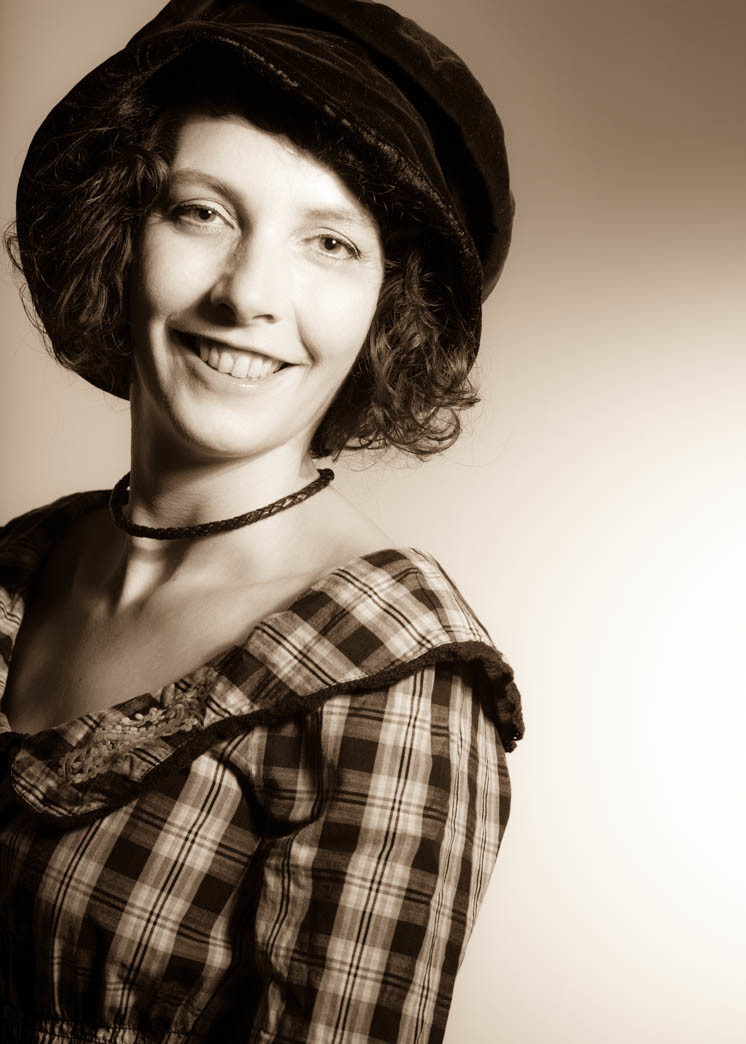 Portraitfotos von Ira Ingenpaß in Mönchengladbach